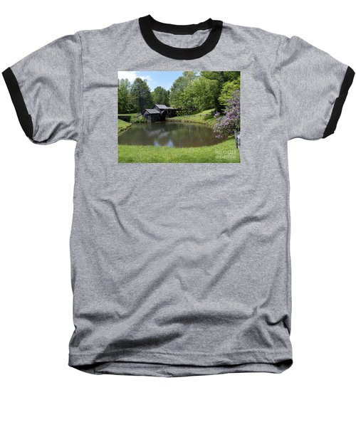 Spring Comes To Mabry Mill Baseball T-Shirt