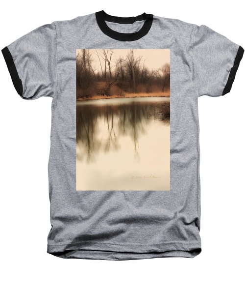 Baseball T-Shirt featuring the photograph Spring Coming by Edward Peterson