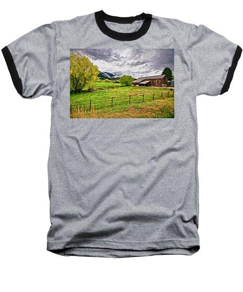 Spring Coming To Life Baseball T-Shirt