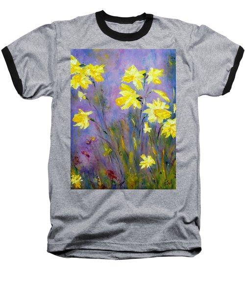 Spring Daffodils Baseball T-Shirt