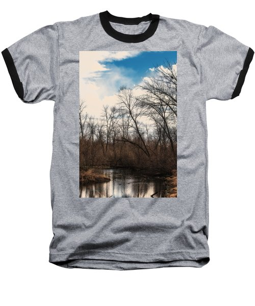 Baseball T-Shirt featuring the photograph Spring Day by Edward Peterson