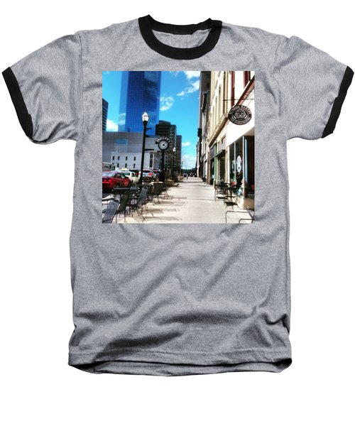 Spring Day In Downtown Lexington, Ky Baseball T-Shirt