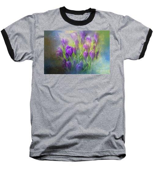 Spring Delight Baseball T-Shirt by Eva Lechner