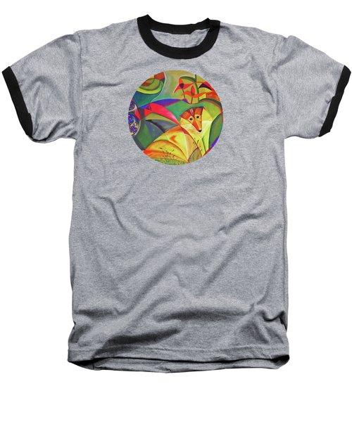 Spring Dog Baseball T-Shirt by AugenWerk Susann Serfezi