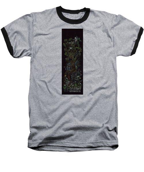 Spring Dryad Baseball T-Shirt by Dawn Fairies