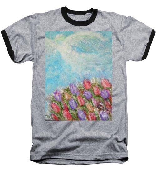 Spring Emerging Baseball T-Shirt by Lyric Lucas