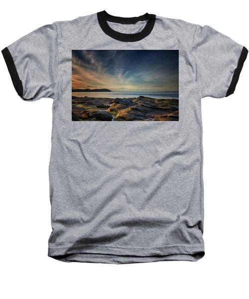 Spring Evening At Madrona Baseball T-Shirt by Randy Hall