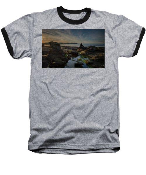Spring Evening Baseball T-Shirt by Randy Hall