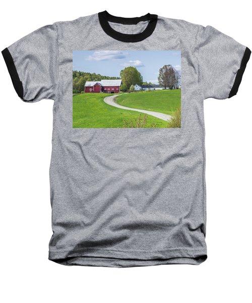 Spring Farm Baseball T-Shirt by Tim Kirchoff