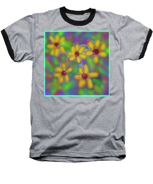 Spring Fever Baseball T-Shirt by Latha Gokuldas Panicker