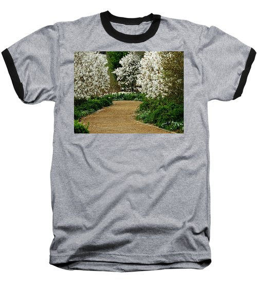 Spring Flowering Trees Wall Art Baseball T-Shirt