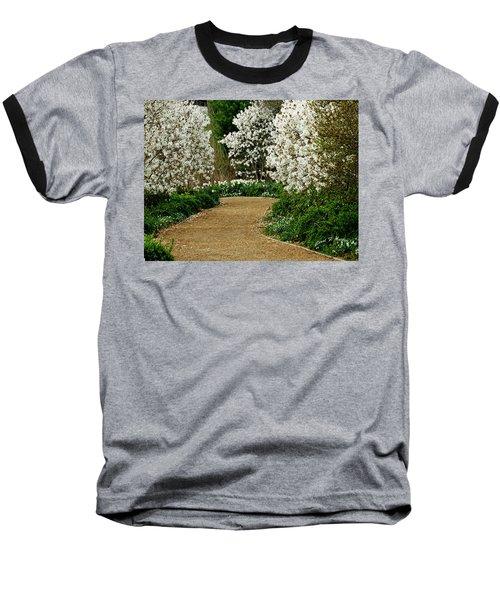 Spring Flowering Trees Wall Art Baseball T-Shirt