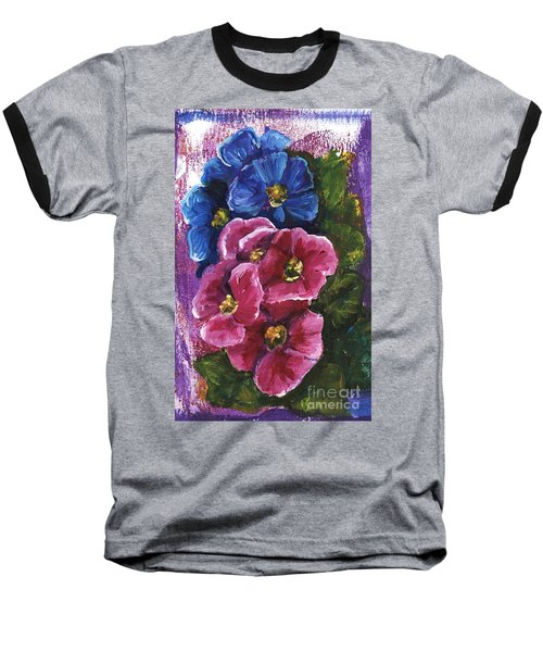 Spring Flowers Baseball T-Shirt