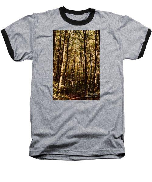 Baseball T-Shirt featuring the photograph Spring Forest by Jean Bernard Roussilhe