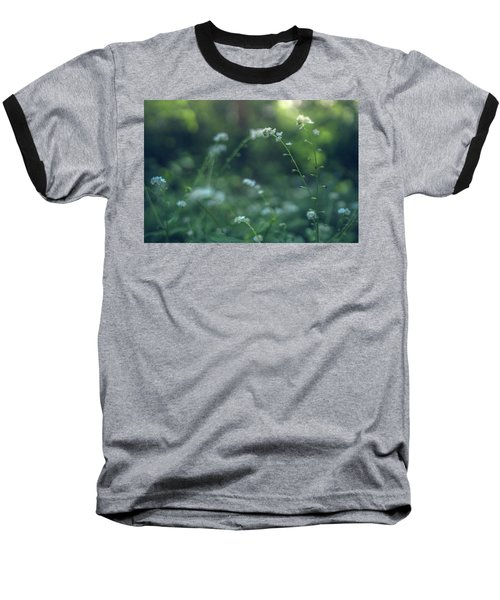 Spring Garden Scene #1 Baseball T-Shirt
