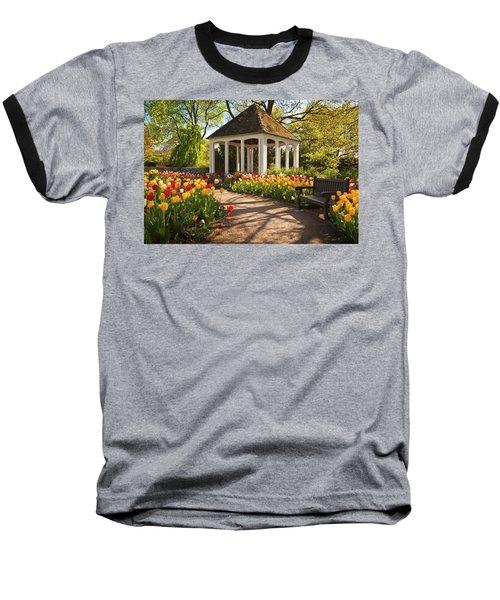 Spring Gazebo Baseball T-Shirt