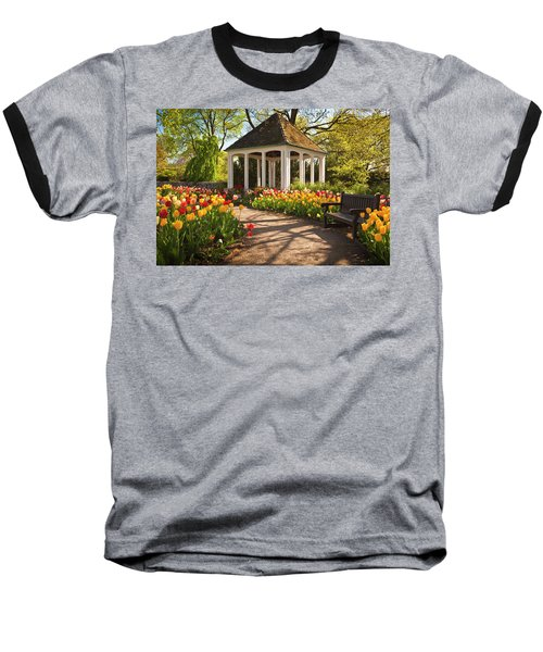 Spring Gazebo Baseball T-Shirt