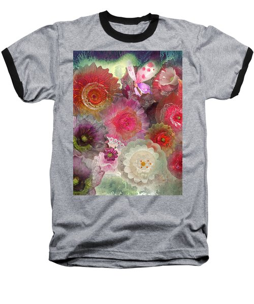 Baseball T-Shirt featuring the photograph Spring Glass by Jeff Burgess