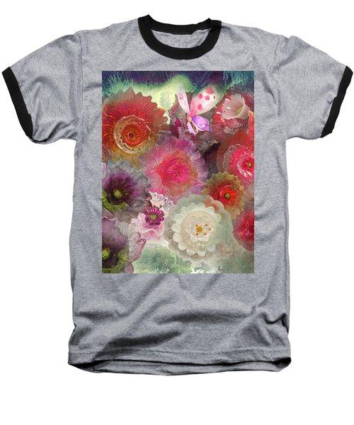 Spring Glass Baseball T-Shirt by Jeff Burgess
