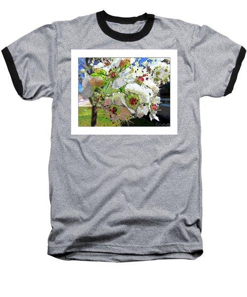 Spring Has Sprung Baseball T-Shirt by Deborah Nakano