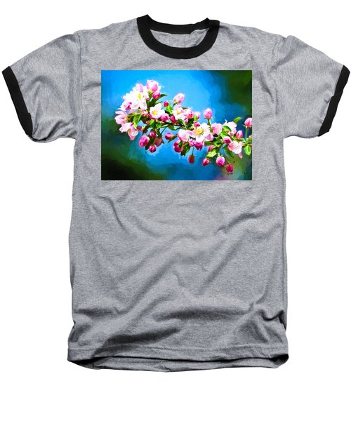 Spring Impressions Baseball T-Shirt by Greg Norrell