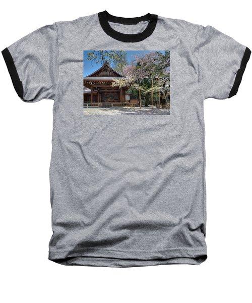 Spring In Edo Baseball T-Shirt