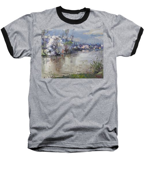 Spring In Hyde Park Baseball T-Shirt by Ylli Haruni