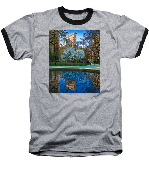 Baseball T-Shirt featuring the photograph Spring In Madison Square Park by Chris Lord