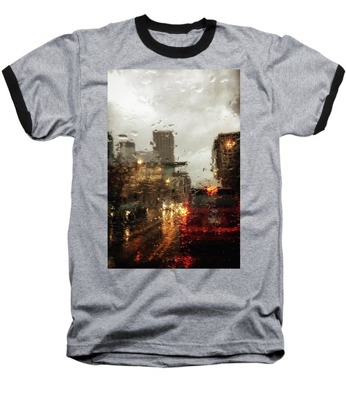 Spring In The City Baseball T-Shirt
