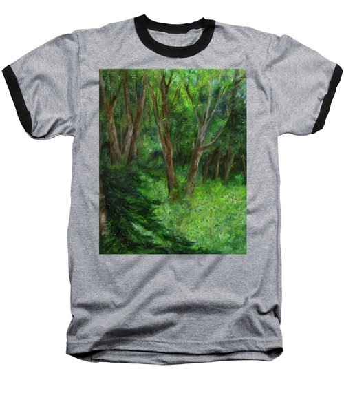 Spring In The Forest Baseball T-Shirt