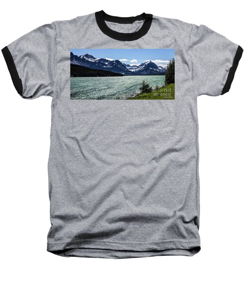 Many Glacier Baseball T-Shirt