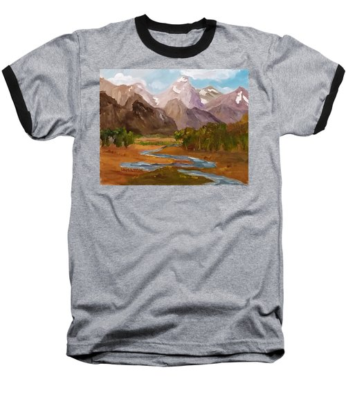 Spring In The Tetons Baseball T-Shirt