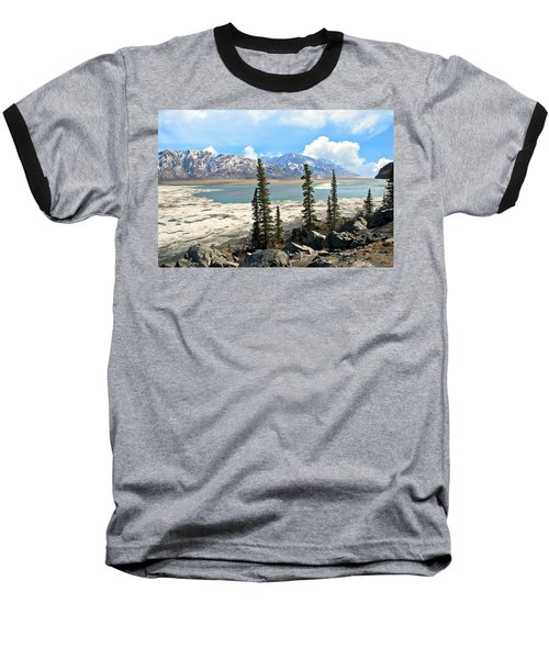 Spring In The Wrangell Mountains Baseball T-Shirt