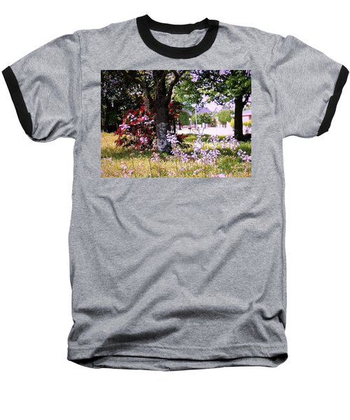 Spring In The Yard Baseball T-Shirt