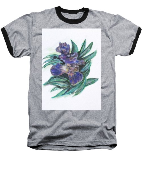 Spring Iris Bloom Baseball T-Shirt