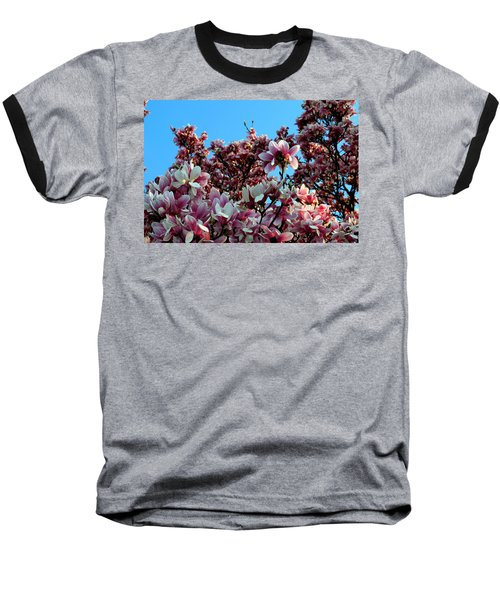 Spring Is Here Baseball T-Shirt by Dorin Adrian Berbier