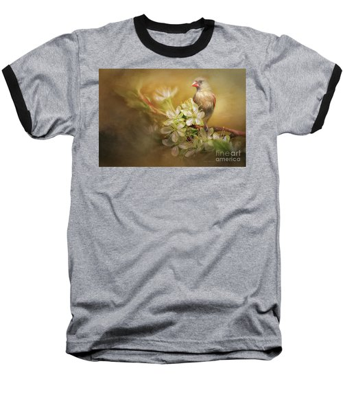 Spring Is In The Air Baseball T-Shirt by Linda Blair
