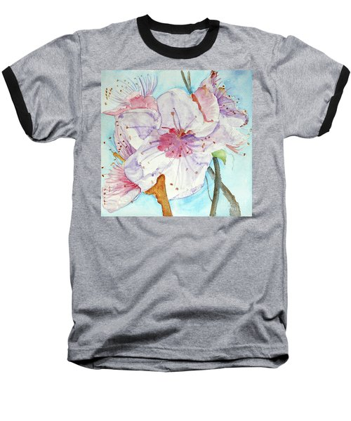 Baseball T-Shirt featuring the painting Spring by Jasna Dragun