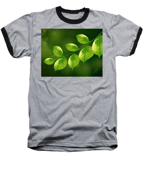 Baseball T-Shirt featuring the painting Spring Life by Veronica Minozzi