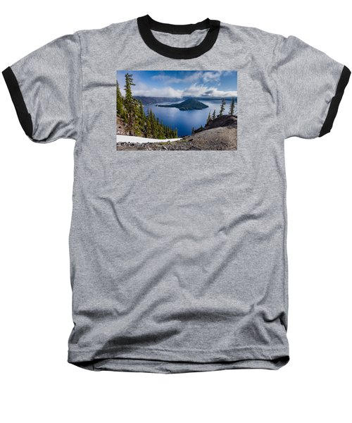 Spring Morning At Discovery Point Baseball T-Shirt