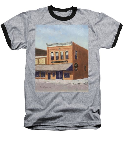 Spring Morning Downtown Baseball T-Shirt