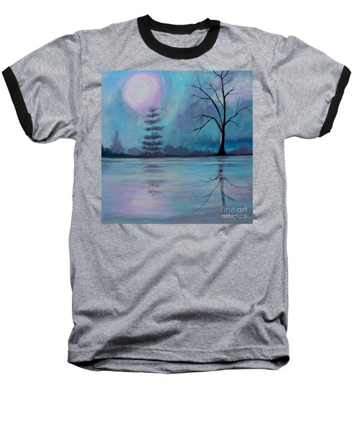 Spring Morning Baseball T-Shirt by Stacey Zimmerman