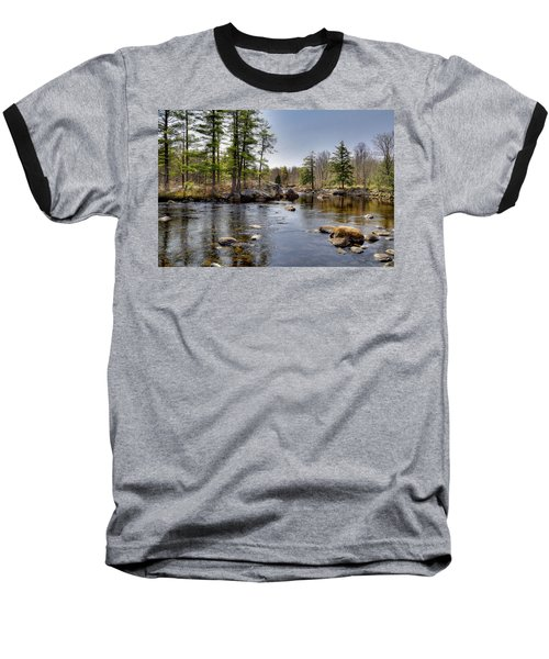 Baseball T-Shirt featuring the photograph Spring Near Moose River Road by David Patterson