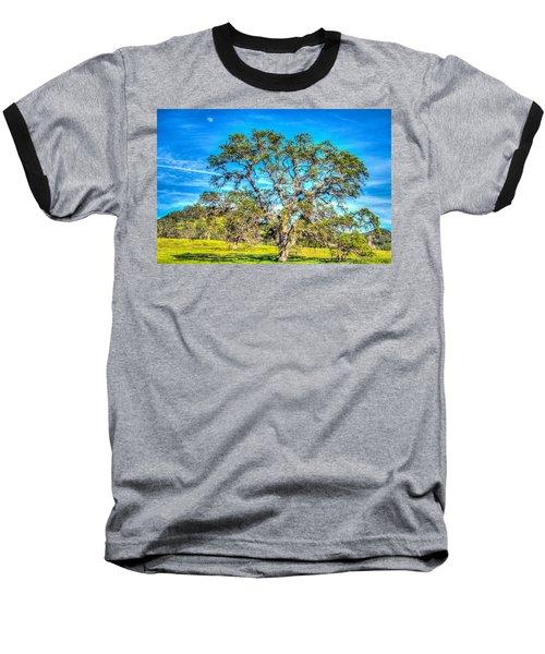 Spring Oak Moon Rise Baseball T-Shirt