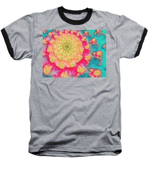 Baseball T-Shirt featuring the digital art Spring On Parade 2 by Bonnie Bruno