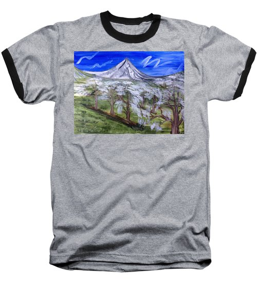 Spring On The Hood Baseball T-Shirt