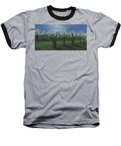 Spring Orchard Baseball T-Shirt