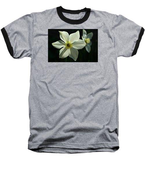 Spring Perennial Baseball T-Shirt by Barbara S Nickerson
