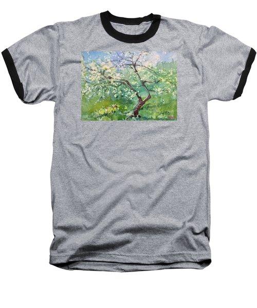 Spring Plum Baseball T-Shirt