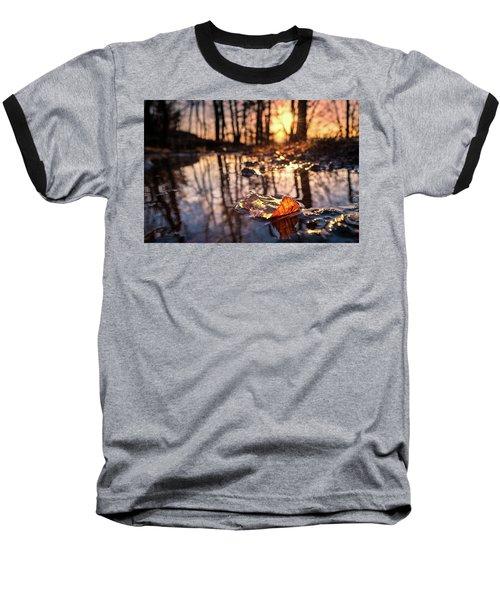 Spring Puddles Baseball T-Shirt by Craig Szymanski